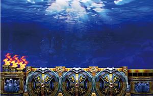 アナザーゴッドポセイドン-海皇の参戦-│エフェクト系演出│水面