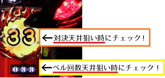番長3│天井・狙い目・カウンター・ベル回数